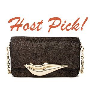 HP** DVF New FLIRTY LIPS X-body Bag Clutch